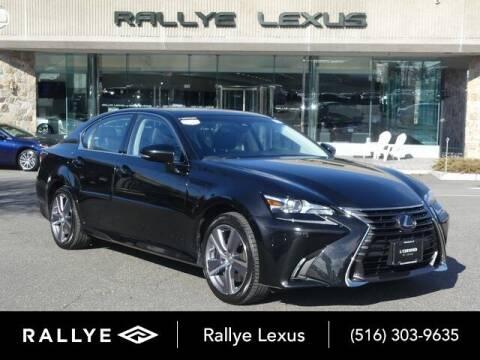 2018 Lexus GS 350 for sale at RALLYE LEXUS in Glen Cove NY