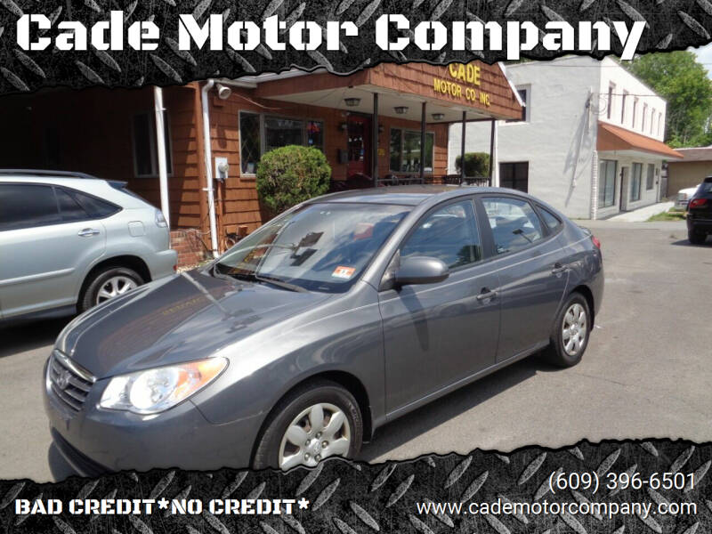 2009 Hyundai Elantra for sale at Cade Motor Company in Lawrenceville NJ