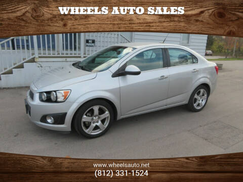 2012 Chevrolet Sonic for sale at Wheels Auto Sales in Bloomington IN