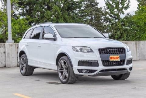 2015 Audi Q7 for sale at Washington Auto Credit in Puyallup WA