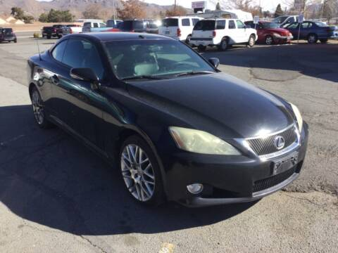 2010 Lexus IS 250C for sale at Small Car Motors in Carson City NV