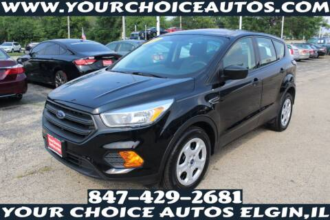 2017 Ford Escape for sale at Your Choice Autos - Elgin in Elgin IL