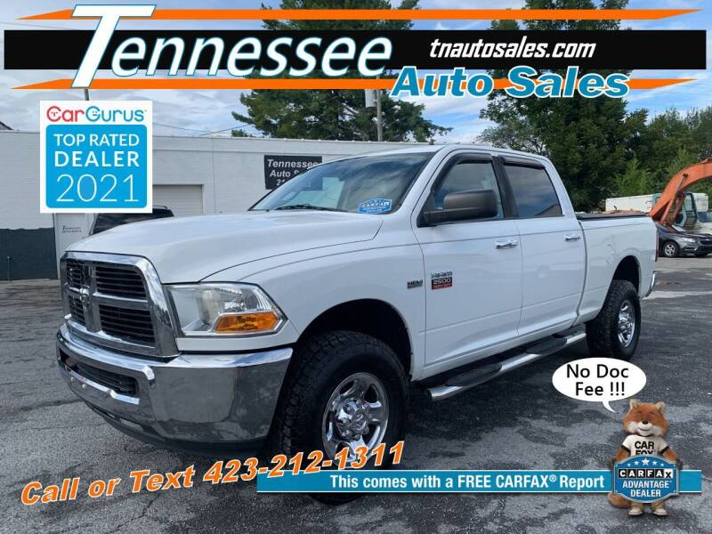 2010 Dodge Ram Pickup 2500 for sale at Tennessee Auto Sales in Elizabethton TN