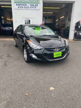 2012 Hyundai Elantra for sale at Pikeside Automotive in Westfield MA