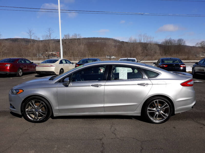 2013 Ford Fusion for sale at Feduke Auto Outlet in Vestal NY
