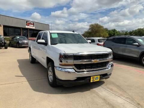 2016 Chevrolet Silverado 1500 for sale at KIAN MOTORS INC in Plano TX
