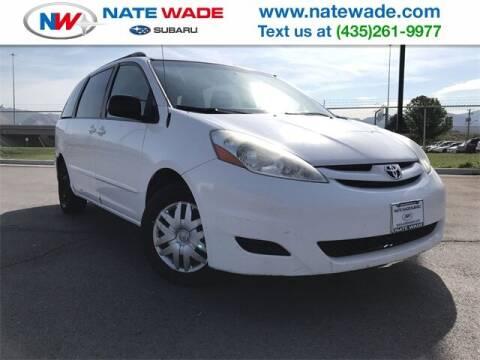 2008 Toyota Sienna for sale at NATE WADE SUBARU in Salt Lake City UT