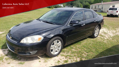 2007 Chevrolet Impala for sale at Lakeview Auto Sales LLC in Sycamore GA