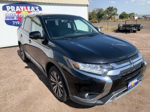 2019 Mitsubishi Outlander for sale at Praylea's Auto Sales in Peyton CO