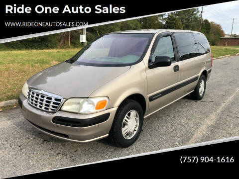 1998 Chevrolet Venture for sale at Ride One Auto Sales in Norfolk VA