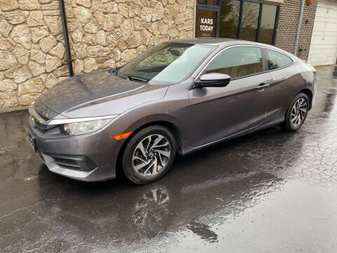 2016 Honda Civic for sale at Kars Today in Addison IL
