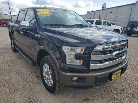 2016 Ford F-150 for sale at CHURCHILL AUTO SALES in Fallon NV
