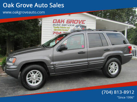 2004 Jeep Grand Cherokee for sale at Oak Grove Auto Sales in Kings Mountain NC