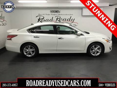 2015 Nissan Altima for sale at Road Ready Used Cars in Ansonia CT