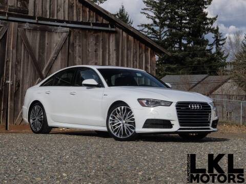 2017 Audi A6 for sale at LKL Motors in Puyallup WA
