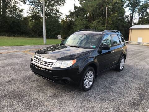2012 Subaru Forester for sale at Jackie's Car Shop in Emigsville PA