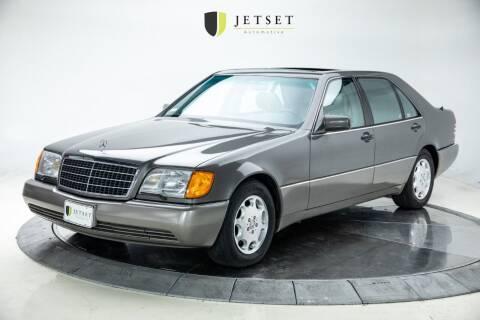 1994 Mercedes-Benz S-Class for sale at Jetset Automotive in Cedar Rapids IA