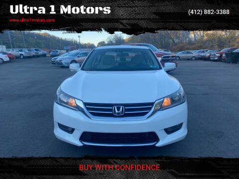 2014 Honda Accord for sale at Ultra 1 Motors in Pittsburgh PA
