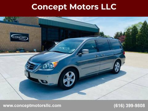 2010 Honda Odyssey for sale at Concept Motors LLC in Holland MI