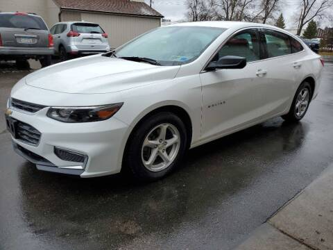 2017 Chevrolet Malibu for sale at MIDWEST CAR SEARCH in Fridley MN