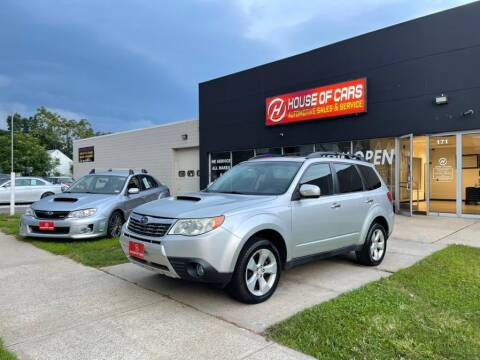 2010 Subaru Forester for sale at HOUSE OF CARS CT in Meriden CT