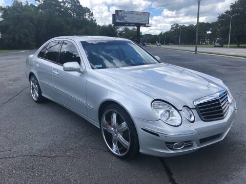 2007 Mercedes-Benz E-Class for sale at GOLD COAST IMPORT OUTLET in St Simons GA
