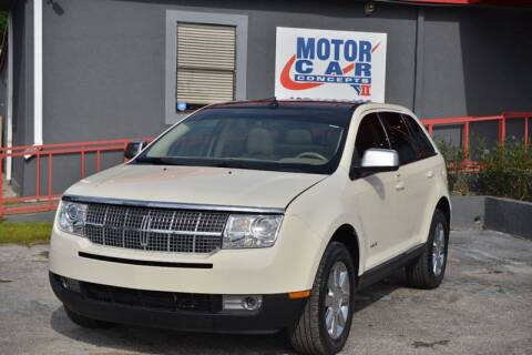 2007 Lincoln MKX for sale at Motor Car Concepts II - Apopka Location in Apopka FL