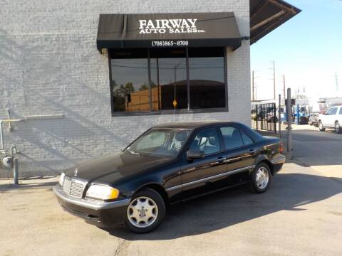 1999 Mercedes-Benz C-Class for sale at FAIRWAY AUTO SALES, INC. in Melrose Park IL
