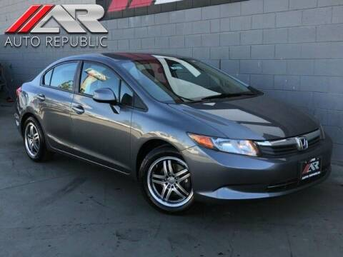 2012 Honda Civic for sale at Auto Republic Fullerton in Fullerton CA