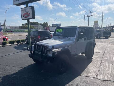 2004 Jeep Wrangler for sale at Used Car Factory Sales & Service in Bradenton FL