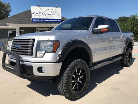 2012 Ford F-150 for sale at Maryville Auto Sales in Maryville TN