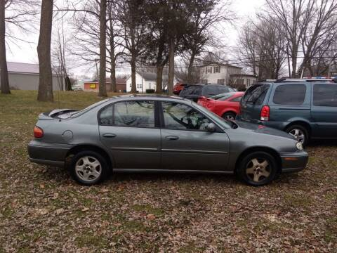 2003 Chevrolet Malibu for sale at Antique Motors in Plymouth IN
