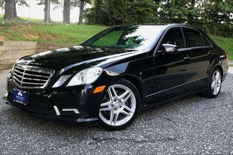 2011 Mercedes-Benz E-Class for sale at TRUST AUTO in Sykesville MD
