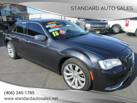 2018 Chrysler 300 for sale at Standard Auto Sales in Billings MT