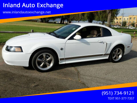 2004 Ford Mustang for sale at Inland Auto Exchange in Norco CA