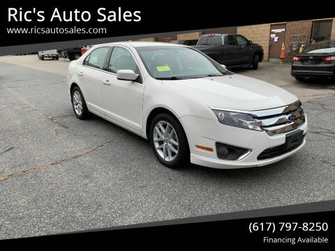 2012 Ford Fusion for sale at Ric's Auto Sales in Billerica MA