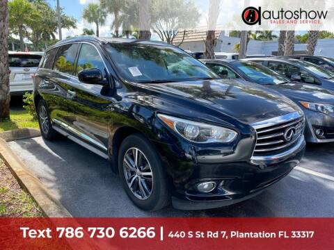 2015 Infiniti QX60 for sale at AUTOSHOW SALES & SERVICE in Plantation FL