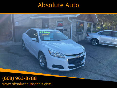 2014 Chevrolet Malibu for sale at Absolute Auto in Baraboo WI