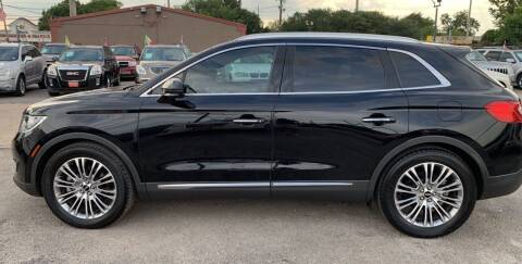 2016 Lincoln MKX for sale at FAIR DEAL AUTO SALES INC in Houston TX