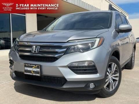 2018 Honda Pilot for sale at European Motors Inc in Plano TX