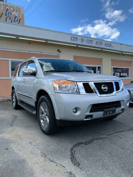 2012 Nissan Armada for sale at City to City Auto Sales in Richmond VA