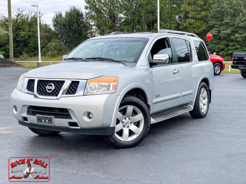 2009 Nissan Armada for sale at Rock 'n Roll Auto Sales in West Columbia SC