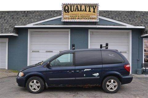 2006 Dodge Caravan for sale at Quality Pre-Owned Automotive in Cuba MO