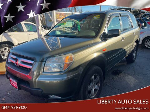 2006 Honda Pilot for sale at Liberty Auto Sales in Elgin IL