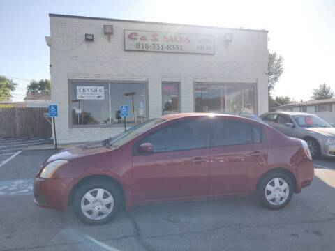 2007 Nissan Sentra for sale at C & S SALES in Belton MO