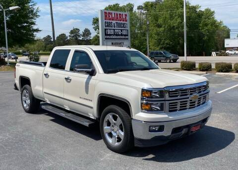 2014 Chevrolet Silverado 1500 for sale at Reliable Cars & Trucks LLC in Raleigh NC