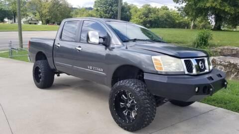 2006 Nissan Titan for sale at HIGHWAY 12 MOTORSPORTS in Nashville TN