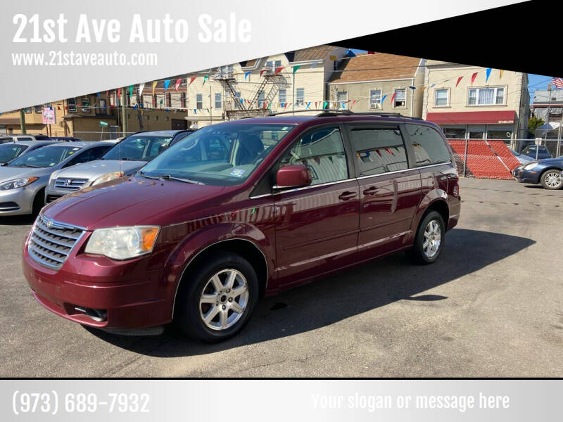 2008 Chrysler Town and Country for sale at 21st Ave Auto Sale in Paterson NJ