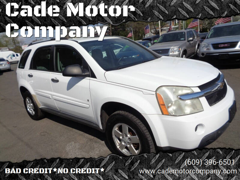 2007 Chevrolet Equinox for sale at Cade Motor Company in Lawrenceville NJ
