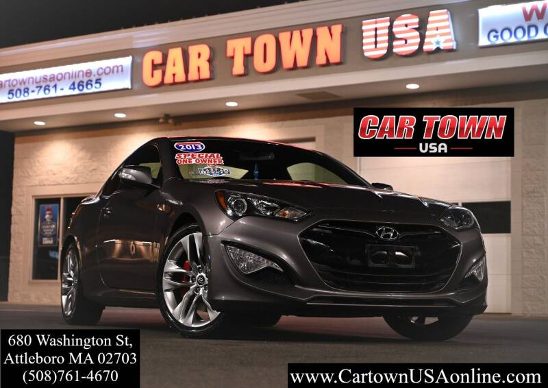 2013 Hyundai Genesis Coupe for sale at Car Town USA in Attleboro MA